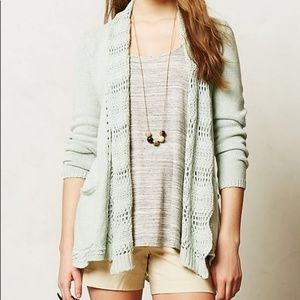 Angel of the North Anthropologie Knit Cardigan